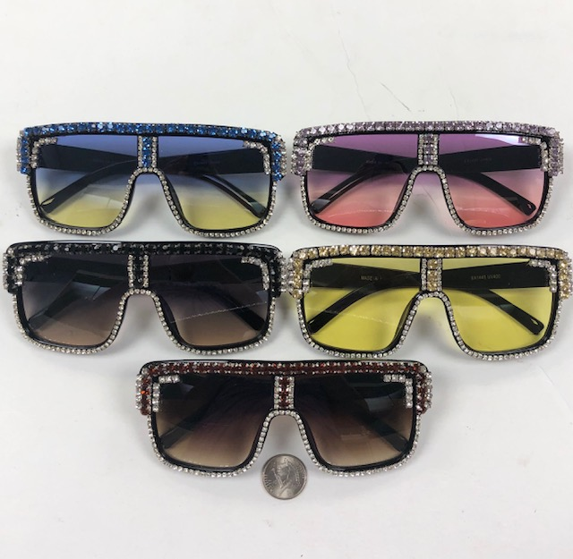 LARGE FRAMES WITH RHINESTONE OUTLINE