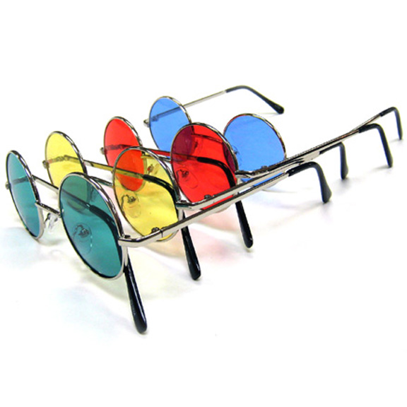 JOHN LENNON COLOR LENS BETTER QUALITY SUNGLASSES