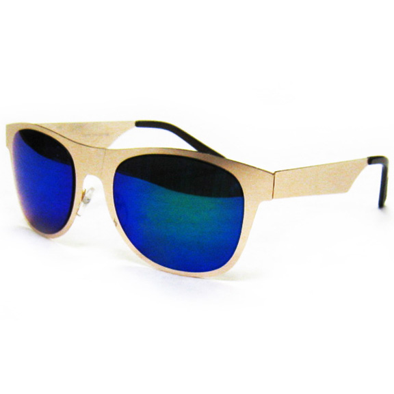 METAL FRAME SUNGLASSES WITH REVO LENS