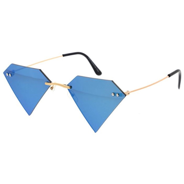 DIAMOND SHAPE, ASSORTED REVO LENSE SUNGLASSES