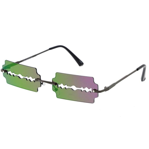 REVO LENSES RAZOR BLADE LOOK SUNGLASSES