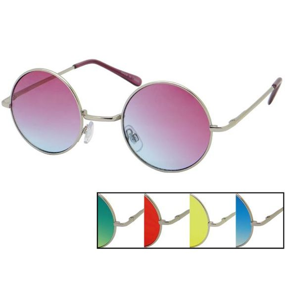 LENNON STYLE FRAMES WITH OCEAN BRIGHT COLOR LENS