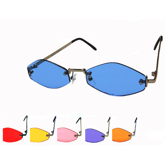 HIP/MOD SHAPE COLOR LENS SUNGLASSES
