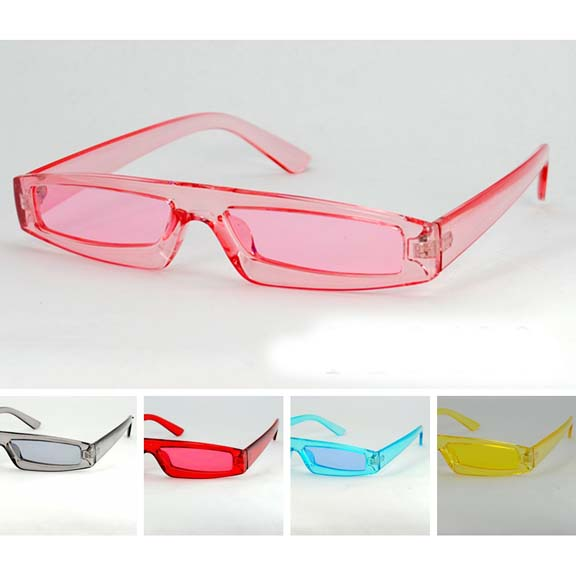 SMALL UNISEX BRIGHT COLOR SUNGLASSES