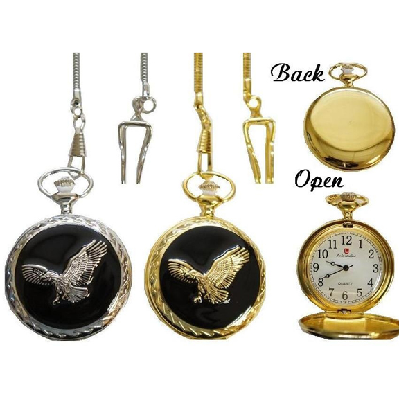 POCKET WATCHES, CERAMIC, TRAINS & EAGLES