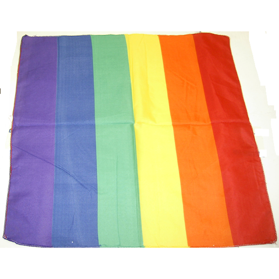 RAINBOW COLOR BANDANAS