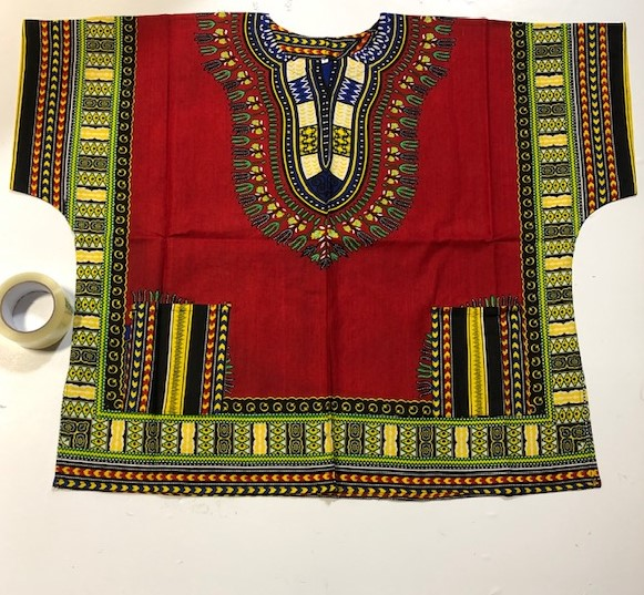 4XL-6XL SIZING DASHIKI SHIRTS NICE BOLD COLORS SHORT SLEEVES