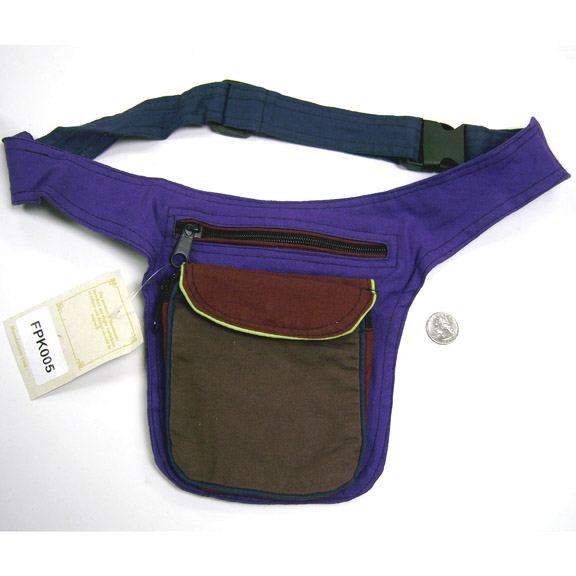 NEPAL MADE, 3 COLOR 100% COTTON FANNY FUNKY PACK
