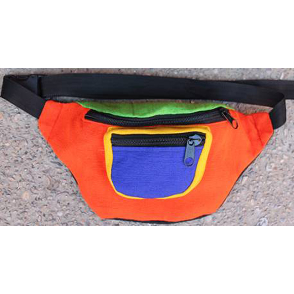 3 COLOR FANNY PACK MADE IN GUATAMALAR
