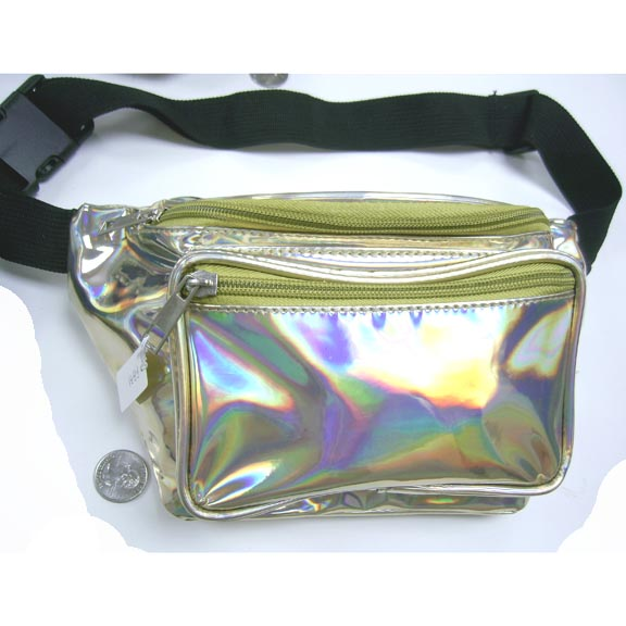 HOLOGRAM/IRIDESCENT COLORS FANNY PACKS