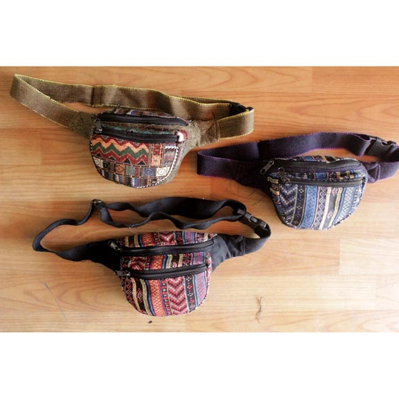 FANNY PACKS MADE IN NEPAL, GREAT patterns