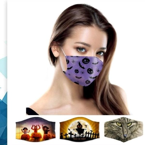 FACE MASKS, HALLOWEEN THEMES,  VERY GOOD QUALITY