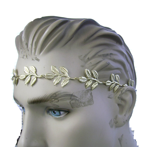 LEAF HEADBAND SILVER ONLY IN STOCK