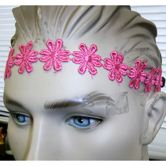 FLOWER FABRIC HEADBANDS