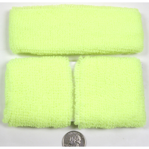 ORANGE ONLY IN STOCK  NEON COLORS SWEATBAND SETS