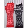 FISHNET FINGERLESS GLOVES, UP TO ELBOW