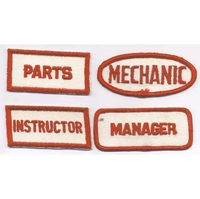 WORK TITLE PATCHES