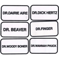 DR. NAME PATCHES, #2