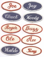 NAME PATCHES new