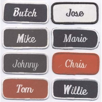 NAME PATCHES(VINTAGE)