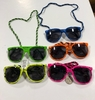 80&#39S CLASSIC STYLE FRAMES IN NEON COLOR WITH SPLATTER & CORD
