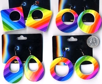 RAINBOW CLASSIC SHAPE EARRINGS