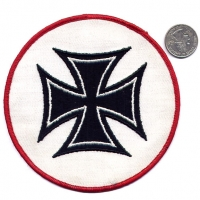 IRON CROSS PATCH, LARGE