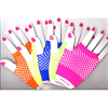 FISHNET NEON  FINGERLESS GLOVES