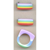 RAINBOW STRIPE RING PASTELISH