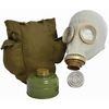 GAS MASK W/ CANISTER new, comes in box  sizes medium and small