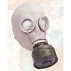 GAS MASK W/ CANISTER new, comes in box