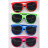 NEON/BRIGHT COLORS, 80&#39 FASHION, MIRROR LENS WITH SPLATTER