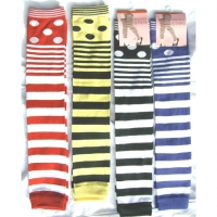 STRIPES FUN LEG WARMERS
