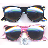 BLUES BROTHERS 6 BLACK, 6 PINK SUNGLASSES