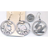 ZODIAC SILVER EARRINGS
