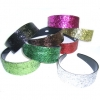 RED, PINK, BLACK & BROWN ONLY GLITTER ASSORTED COLOR HEADBANDS