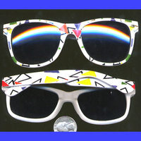 80'S PARTY BLUES BROTHERS FRAME SUNGLASSES