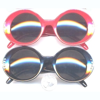 RETRO 40-50'S LADIES SUNGLASS W/ GEMS