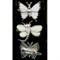 BUTTERFLY & DRAGONFLY  CATCH PIN HAIR CLIP