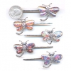 DRAGONFLY MIXED COLORS HAIR BOBBIE PIN