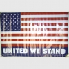 AMERICAN FLAG POSTER UNITED WE STAND