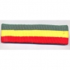 80&#39S TERRY CLOTH RASTA COLORS HEADBAND