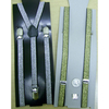GOLD & SILVER THIN SUSPENDERS