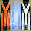 POLKA DOTS ASSORTED  BRIGHTS SUSPENDERS