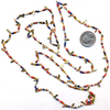 48 INCH LONG SEED BEAD NECKLACE