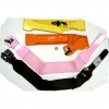 80&#39S WIDE STRETCH BELTS  PINK AND ORANGE ONLY