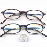 CLEAR LENS LIBRARIAN GLASSES