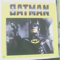 BATMAN  MOVIE 1991  CALENDAR