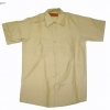 SHORT SLEEVE WORK SHIRTS YELLOW S & M ONLY