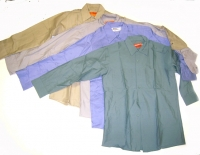 WORK SHIRTS ALL SIZE SMALL 4 ASST COLORS LONG SLEEVES